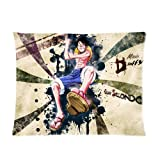 Generic Japanese popular anime One Piece decorative Cushion cover sofa throw Pillowcas Custom zippered pillow case 20 x 26 (One Side) style 4