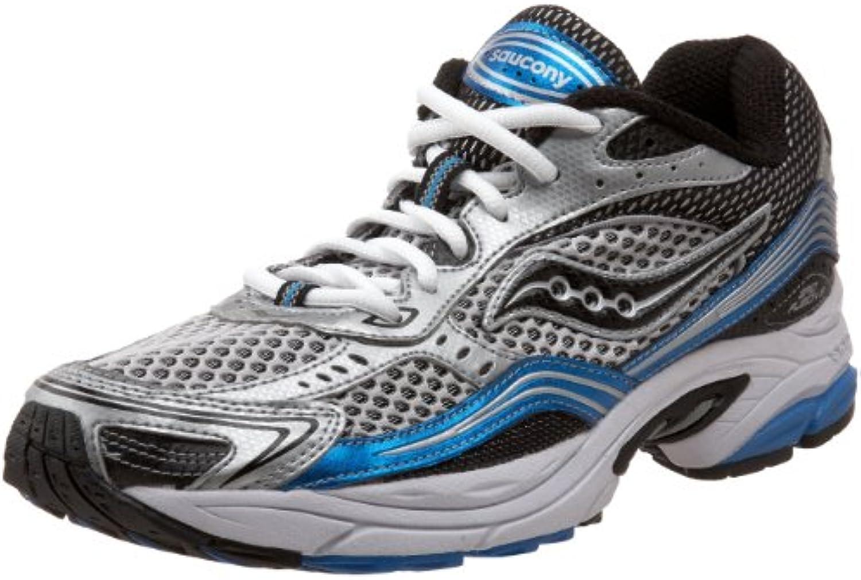 Saucony hombres Grid Fusion 3 Running zapatos,plata/Royal/negro,10.5 M US
