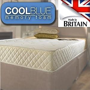 Single 3ft Memory foam and Sprung mattress
