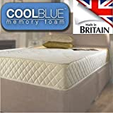 4ft Small Double Medium Firm Memory Foam Sprung Mattress - 4ft Small Double