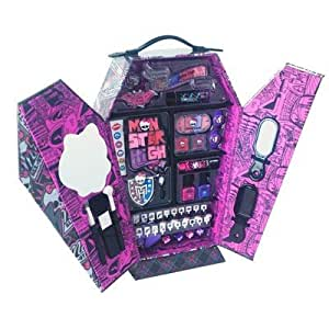 Monster High Ghoul's Rule Locker Styling Makeover Case 68 piece Vanity set