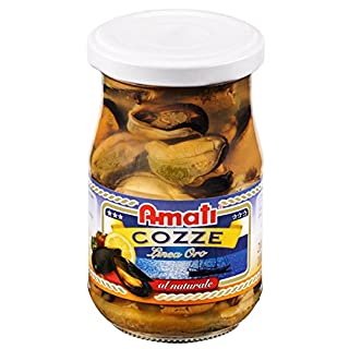 Amati Mussels in Water 200 g