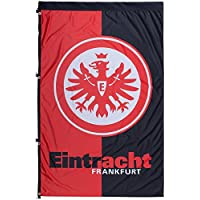 Hissflagge Eintracht Frankfurt - 100 x 150 cm + gratis Aufkleber, Flaggenfritze®