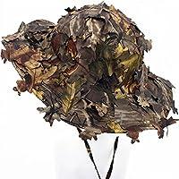 DETECH 3D Blatt Camouflage Ghillie Cap Jagd Angeln Hüte Armee Krieg Spiele Camo Sunshade Baseball Hut Männer Frauen
