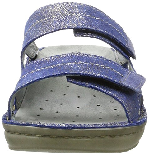 Rohde Cremona, Mules Femme Bleu jean