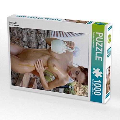 Olivenöl 1000 Teile Puzzle hoch (CALVENDO Menschen)