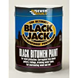 Everbuild 90101 Bitumen Paint 1L - Black