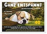 Einladungskarten für Erwachsene, JEDES Alter möglich, lustig originell 30 50 70 - runder Geburtstag, 90 Einladungen je DIN A5 groß