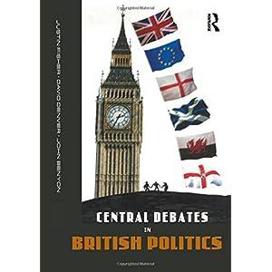Central Debates in British Politics (Paperback)