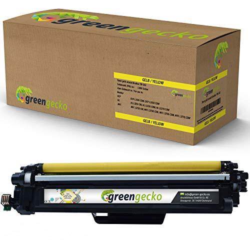 Toner gelb ersetzt Brother TN-243 I Geeignet Für HL-L3210CW HL-L3230CDW HL-L3270CDW DCP-L3510CDW DCP-L3550CDW MFC-L3710CW MFC-L3730CDN MFC-L3750CDW MFC-L3770CDW I Druckerpatrone Yellow mit Chip - 3550 Serie Yellow Toner