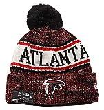 New Era Men Winter Bonnets NFL Sport Cuff Atlanta Falcons red Standard Size