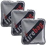 firebag Wärmepad: 3er-Set Taschenwärmer