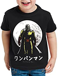 style3 One Punch Saitama T-Shirt pour Enfants Anime Manga