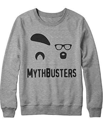 Sweatshirt Myth ADAM & Jamie C500044 Grau XXL -