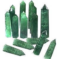 Jannyshop Kristall Zauberstab Grün Natürlichen Kristall Spalte Ornament Quarz Kristall Stein Heilung Hexagonal... preisvergleich bei billige-tabletten.eu