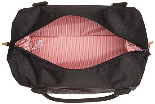 Herschel Strand, Sac bandoulière - Multicolore (Navy/Red), Taille Unique Noir (Black)