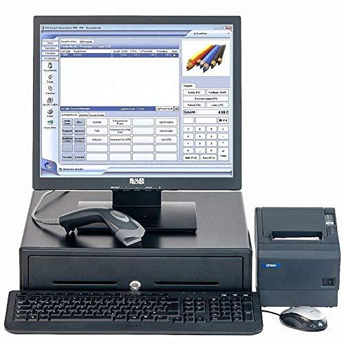 Ready for 2020: Touch-Kasse für den Einzelhandel mit Software Afono X1 TSE (2020), sehr einfache Bedienung, erfüllt alle Anforderungen des BMF ab 0101.2020, für alle Branchen geeignete Computerkasse mit Warenwirtschaft
