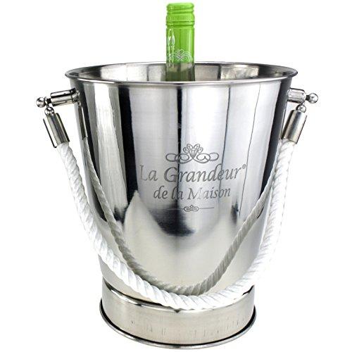 Luxus Sektkühler Weinkühler Flaschenkühler Weinflaschenkühler EDELSTAHL
