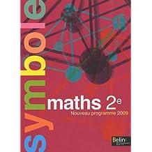 Maths 2e : Programme 2009