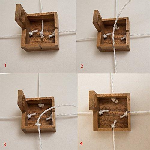 ROMBOL Geschenkesafe - Kreatives Geduldsspiel als Geschenkverpackung für Erwachsene und Kinder, Modell:1 - 6