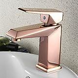 LHbox Bad Armatur in Bad für Waschbecken Waschtisch Wasserhahn Waschtischarmatur Die Ganze Idee von Kupfer Waschbecken Wasserhahn Bad Armatur Küchenarmatur