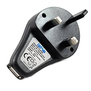 USB Mains Adaptor Plug For Kodak Easyshare 1113307 K20 USB to Mains Camera Charger AC mains power Adaptor [For use with U-8 USB cable supplied with your camera - Not included] M320, M340, M341, M380, M381, M420, M530, M531, M550, M575, M580, M753, M763, M853, M863, M873, M883, M893 IS, M1033, M1063, M1073 IS, MD1063, MX1063, M1073 IS, Playsport, V1073, V1233, V1253, V1273, Ze Playfull, Zi8, Zi Playtouchm, Zm Mini, Zx3, Zx Playsport