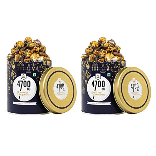 4700BC Nutty Tuxedo Chocolate Popcorn, Tin, 125g (Pack of 2)