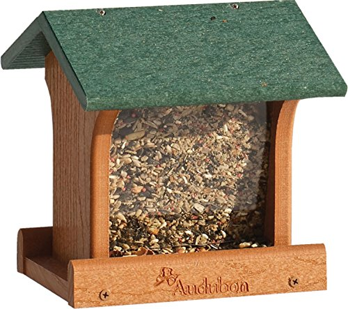 Woodlink Audubon NAGOGREEN1 Vogelfutterstation im Ranch-Stil, Grün -