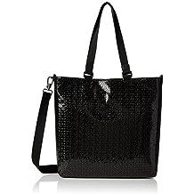 Tous Shopping Lindsay, Shopper para Mujer, Negro (Black / Black), 8x34x34 cm (W x H x L)