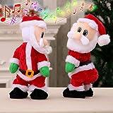 Rokoo Elektrische Twerk Weihnachtsmann Spielzeug Weihnachten Musik Singen Tanzen Twisted Wiggle Hip Puppe Weihnachten Dekoration Kinder Geschenke