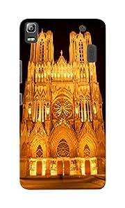 KnapCase Reims Cathedral Designer 3D Printed Case Cover For Lenovo K3 Note