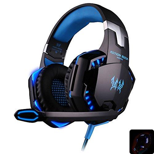 Jeder G2000Gaming Headset Stereo Sound 2,2m Verdrahtet Kopfhörer Rauschunterdrückung mit Mikrofon für PC-Spiel Koss Stereo-headset