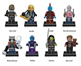 Guardiani della Galassia Gotg Action Figure 8 PC set Fits Lego