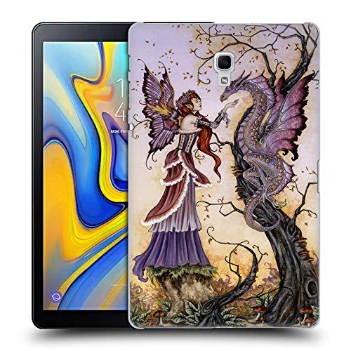 Head Case Designs Offizielle Amy Brown Drachen-Charmeur Fantasy Ruckseite Hülle für Samsung Galaxy Tab A 10.5 (2018)