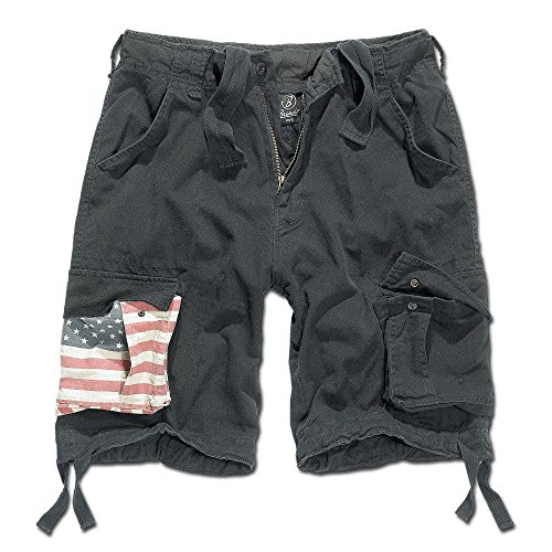 Brandit Urban Legend Short Stars&Stripes Black 6XL (Stripes-flagge Stars And)