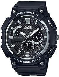 Casio Hommes Chronographe Quartz Montre avec Bracelet en Plastique MCW-200H-1AVEF