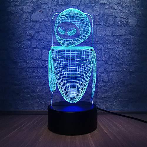 orangeww Night Light 3d Illusion/lámpara de iluminación para niños/lámpara de decoración para...