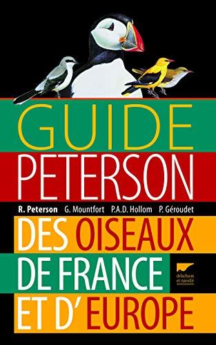 Guide Peterson des oiseaux de France et d'Europe par Roger tory Peterson
