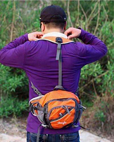 Cinny multifunktionale outdoor Wandern Reiten Schultern enger Taschen Orange