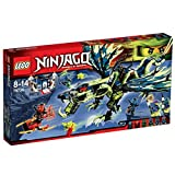 LEGO Ninjago - 70736 - Playthèmes - Jeu de Construction - L'Attaque du Dragon Moro