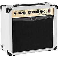 Neewer Amplificador guitarra eléctrica de 20 vatios combo con ecualizador de 3 bandas, 2 canales, Ideal para los amantes de la guitarra y música