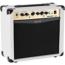 Neewer Amplificador guitarra eléctrica de 20 vatios combo con ecualizador de 3 bandas, 2 canales