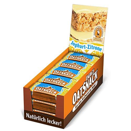 Davina Energy OatSnack, Müsli Riegel von Hand gemacht, Joghurt-Zitrone, 30 x 65 g, 1er Pack (1 x 1.95 kg)
