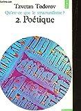 poetique n?2 de la collection qu est ce que le structuralisme?