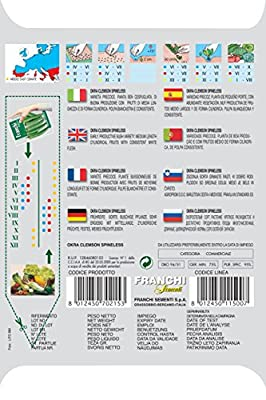 Franchi Samen Okra von Seeds of Italy Ltd auf Du und dein Garten