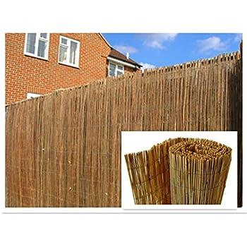 6x3 wooden willow hurdle decorative fencing panel natural. Black Bedroom Furniture Sets. Home Design Ideas