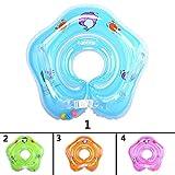 Dewanxin-Zuhause Baby Schwimmen Float Ringe Sicherheits-Badering Sicherheits Hilfe Float Schwimmen Aufblasbare Floatation Ring (blau)