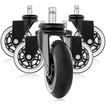 rollerblade style gummi ersatz r der b rostuhl caster wheels f r ihren schreibtisch stuhl. Black Bedroom Furniture Sets. Home Design Ideas