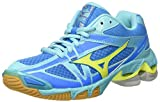 Mizuno Wave Bolt Wos, Zapatos de Voleibol para Mujer, (Divablue/safetyyellow/blueradiance), 36.5 EU