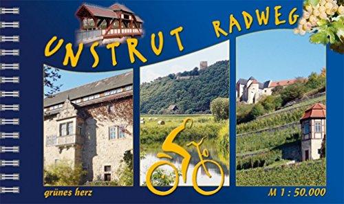 Unstrut-Radwanderweg: Von Kefferhausen nach Naumburg. Maßstab 1:50.000. (Radfernwege)